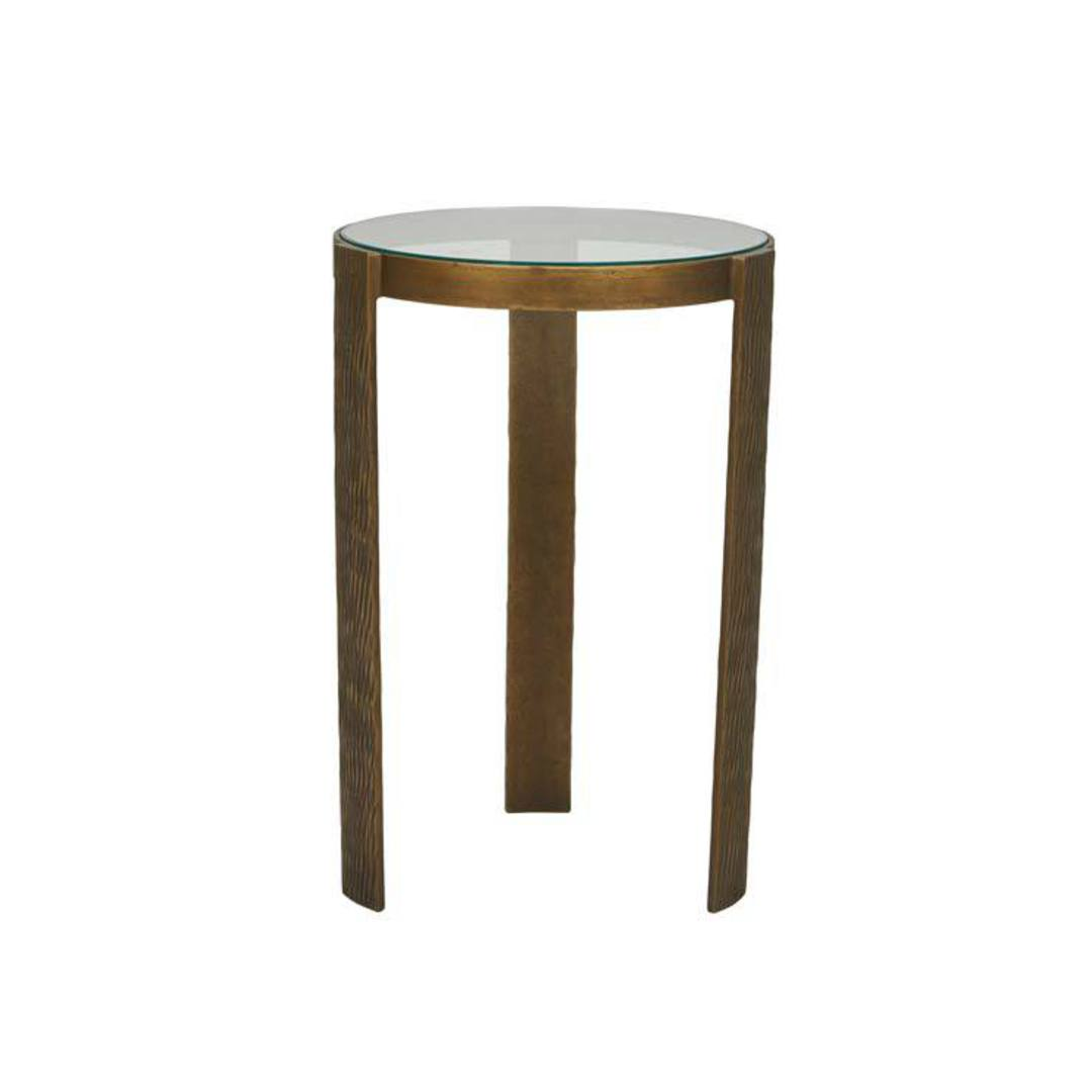 Verona Etch Side Table image 0