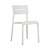 Click to swap image: <strong>Outo Dining Chair - White - RRP-$337</strong></br>Dimensions: W475 x D485 x H825mm</br>Shipped: Assembled - 0.068m3</br>Chair Stackable - Yes</br>Chair Weight - 3.9kg</br>Product Max. Weight - 120kg</br>Seat Height - 480mm</br>Seat & Back Colour - White</br>Seat & Back Finish - UV Resistant</br>Seat & Back Material - Polypropylene
