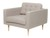 Click to swap image: <strong>Juno Daria Sofa ChTimbr-Oyster - RRP-$1430</strong></br>Dimensions: W2150 x D900 x H720mm</br>Shipped: Assembled - 0.9m3</br>  -