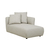 Click to swap image: <strong>Felix Pebble Rit Chs-Biscuit - RRP-$3310</strong></br>Dimensions: W950 x D1620 x H670mm</br>Shipped: Assembled - 1.141m3</br>Cushion Construction - Sofa Cushion Profile - Medium</br>Filling Material - Feather, Foam & Fibrefill</br>Seat Height - 350mm</br>Upholstery Colour - Biscuit Tweed</br>Upholstery Composition - Fabric (100% Polyester)</br>Upholstery Construction - Removable Upholstery Cover