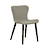 Click to swap image: <strong>Odette Dining Chair-Khaki Grey - RRP-$567</strong></br>Seat Height - 450mm