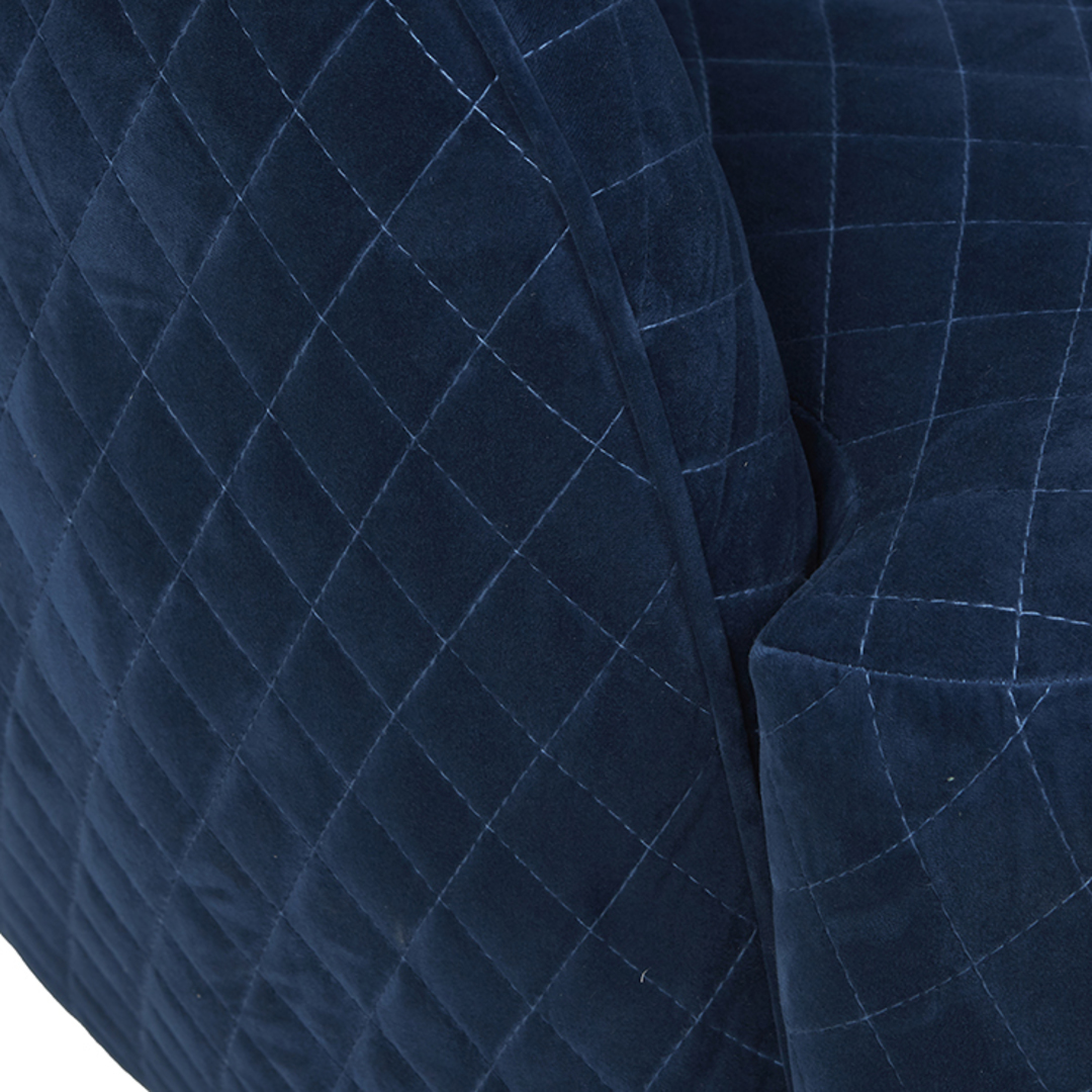 Penelope Quilted Swivel Occasional Chair image 10