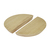 Click to swap image: <strong>Benjamin Button Handle-Nat Ash - RRP-$60</strong></br>Dimensions: 160mm Dia</br>Shipped: Assembled - 0.00077m3</br>Product Colour - Natural Ash</br>Product Configuration - No hardware supplied</br>Product Material - Ash Veneer