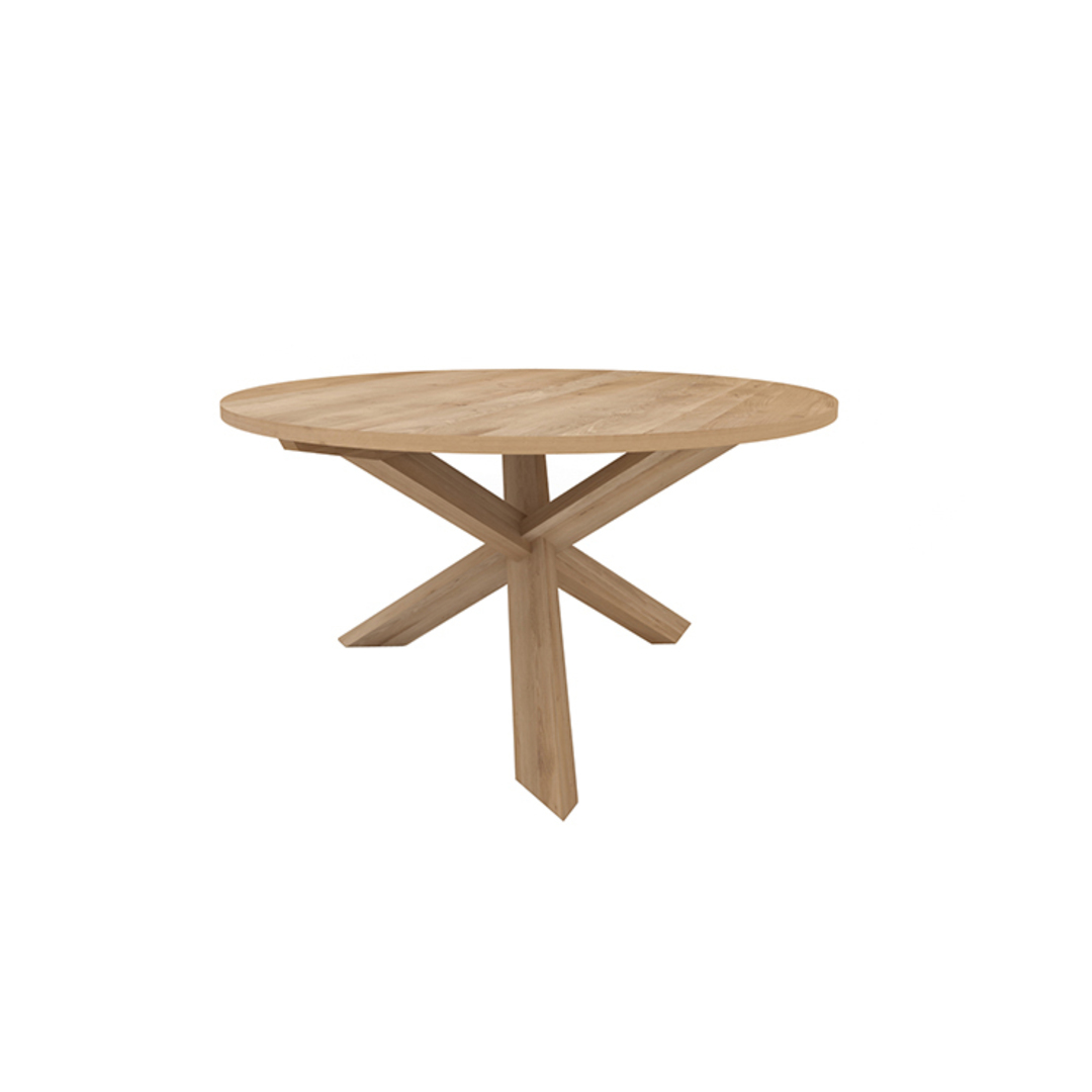 Ethnicraft Circle Dining Tables image 1