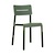 Click to swap image: <strong>Outo Dining Chair - Dark Green - RRP-$337</strong></br>Dimensions: W475 x D485 x H825mm</br>Shipped: Assembled - 0.068m3</br>Chair Stackable - Yes</br>Chair Weight - 3.9kg</br>Product Max. Weight - 120kg</br>Seat Height - 480mm</br>Seat & Back Colour - Dark Green</br>Seat & Back Finish - UV Resistant</br>Seat & Back Material - Polypropylene