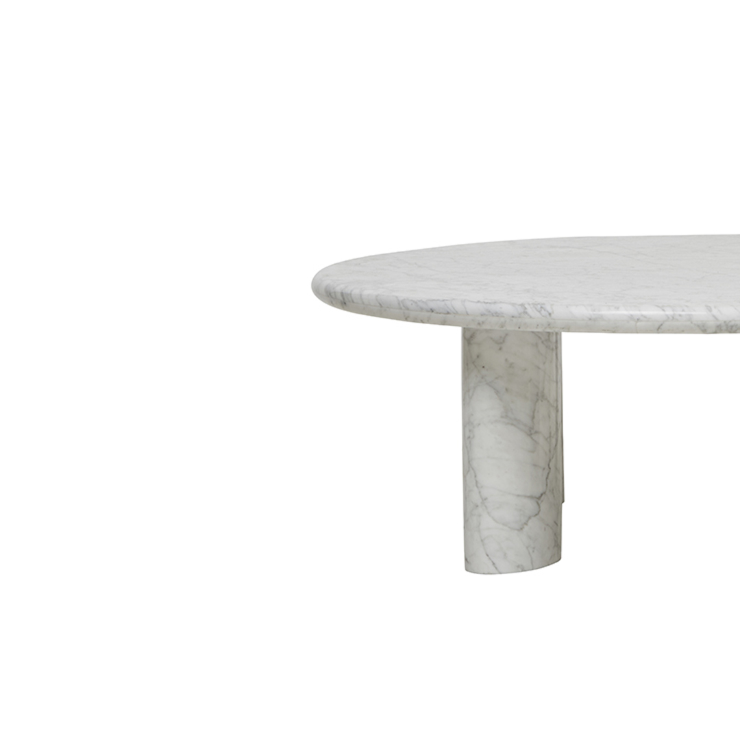 Amara Round Ellipse Leg Coffee Table image 6