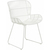 Click to swap image: <strong>Granada Butterfly Din Ch-White - RRP-$</strong></br>Dimensions: W545 x D550 x H830mm</br>Shipped: Assembled - 0.255m3</br>Arm Height - 590mm</br>Chair Max. Weight - 120kg</br>Chair Stackable - No</br>Frame Material - Galvanised Metal</br>Seat Height - 460mm</br>Weaving Colour - White</br>Weaving Material - 2.5mm Resin