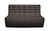 Click to swap image: <strong>Ethnicraft Slouch 2Str-Dk Gey - RRP  N/A</strong></br>Dimensions: W1400 x D910 x H760mm</br>  -