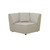 Click to swap image: <strong>Felix Round Corner-Light Grey - RRP-$2205</strong></br>Dimensions: W970 x D970 x H760mm</br>Shipped: Assembled - 0.7m3</br>Cushion Construction - Sofa Cushion Profile - Medium</br>Filling Material - Feather and Foam Fill</br>Product Configuration - Joining Brackets Included</br>Seat Height - 420mm Seat Height</br>Upholstery Colour - Light Grey Tweed</br>Upholstery Composition - Fabric (100% Polyester)</br>Upholstery Construction - Removable Upholstery Cover