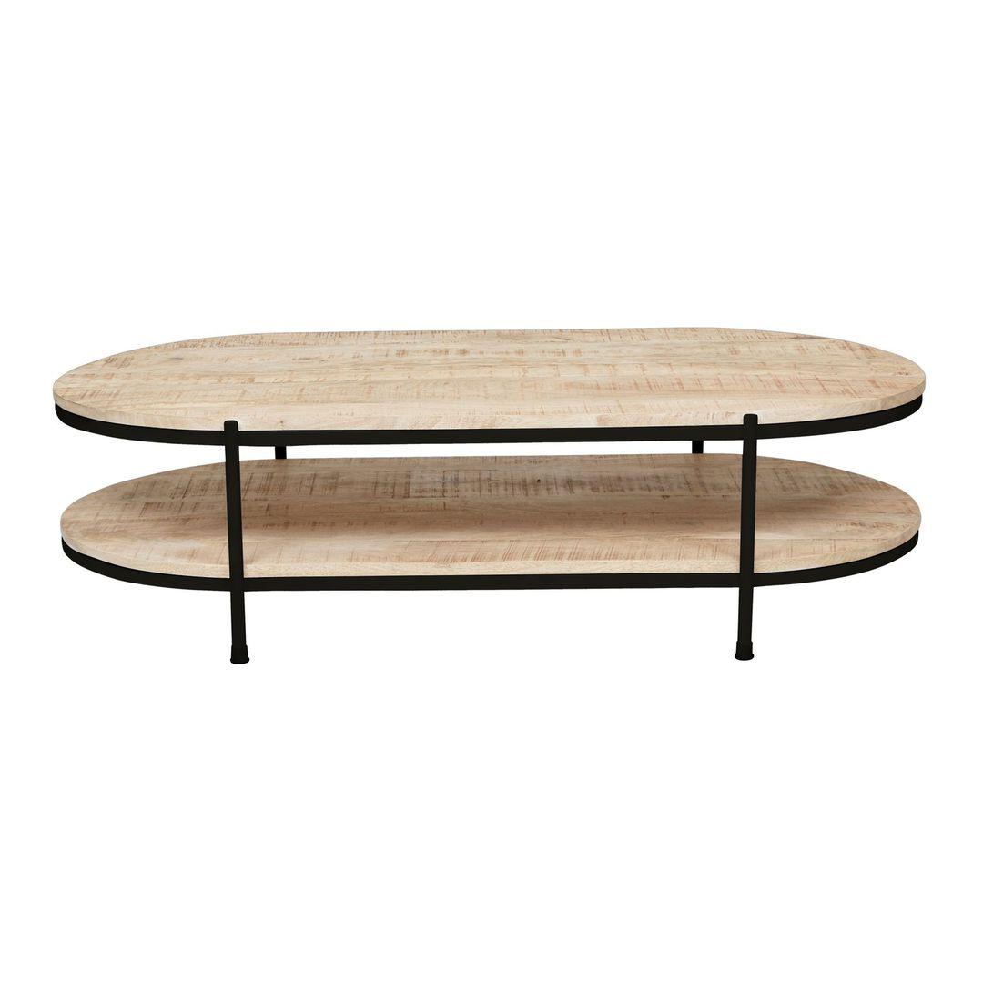 Merricks Oval Coffee Table image 5