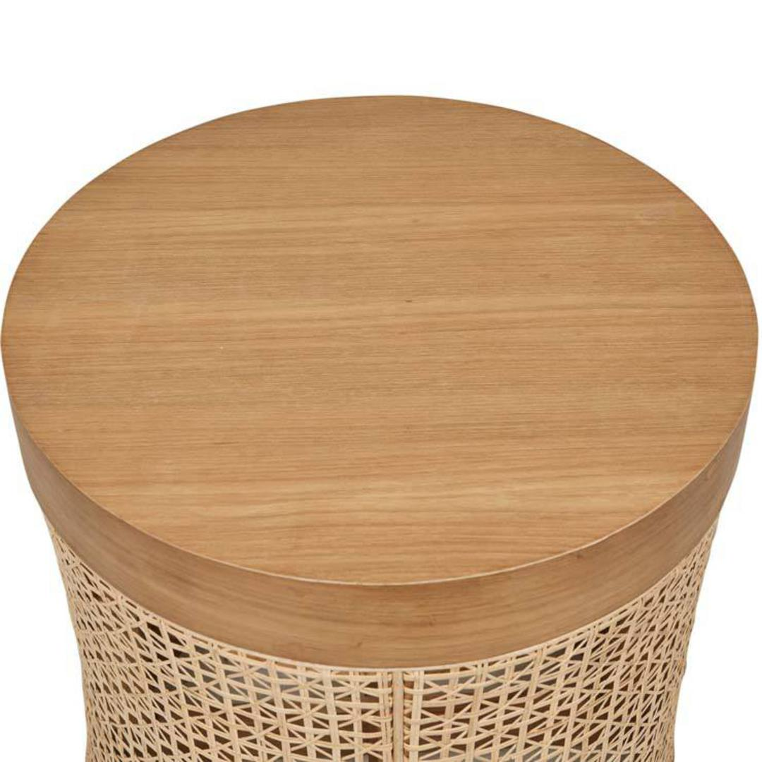 Willow Woven Side Table image 5