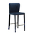 Click to swap image: <strong>Greta Barstool - Navy - RRP-$657</strong></br>Dimensions: W435 x D510 x H965mm</br>Shipped: Assembled - 0.236m3</br>Barstool Stackable - No</br>Footrest Height - 220mm</br>Footrest Material - Stainless Steel</br>Frame Finish - Velvet</br>Frame Material - Metal</br>Seat Colour - Navy Velvet</br>Seat Height - 650mm</br>Seat Material - 100% Polyester</br>Seat Max. Weight - 120kg