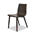 Click to swap image: <strong>Sketch Tami Dining Chair-Black Onyx - RRP-$POA</strong></br>Dimensions: W455 x D550 x H795mm</br>Shipped: Assembled - 0.15m3</br>Chair Max. Weight - 160kg</br>Chair Stackable - No</br>Leg Material - Solid Oak</br>Seat Colour - Black Onyx</br>Seat Finish - PU Lacquer</br>Seat Height - 450mm</br>Seat Material - Ply Wood