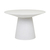 Click to swap image: <strong>Livorno Rnd Sml DiningTb-White - RRP-$4390</strong></br>Dimensions: 1200 Dia x H750mm</br>Shipped: K/D - Requires Assembly on site - 0.873m3</br>Frame Colour - White</br>Frame Material - Fibrestone with Solid Resin</br>Product Finish - PU Lacquer Protective Coating (See Product Care for more Information)