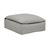 Click to swap image: <strong>Orlando Slouch Ottoman-Aggrega - RRP-$1647</strong></br>Dimensions: W1070 x D900 x H460mm</br>Shipped: Assembled - 0.509m3</br>Arm Height - 640mm</br>Cushion Construction - Sofa Cushion Profile - Soft</br>Filling Material - Feather & Fiber Fill</br>Seat Height - 440mm</br>Upholstery Colour - Aggregate</br>Upholstery Composition - Fabric (5% Acrylic, 15% Linen, 15% Cotton, 65% Polyester)</br>Upholstery Construction - Removable Slip Cover