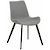 Click to swap image: <strong>Cleo Dining Ch-Bk/Grey Speckle - RRP-$511</strong></br>Chair Stackable - No</br>Seat Configuration - 460mm Seat Height</br>Base Material - Metal</br>Upholstery Colour - Grey Speckle</br>Chair Max. Weight - 120kg</br>Upholstery Material - Fabric (100% Polyester)</br>Base Finish - Matt Black Powder Coated