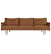 Click to swap image: <strong>Tolv Pensive 3 Str-Camel/LO - RRP-$POA</strong></br>Dimensions: W2400 x D880 x H780mm</br>Shipped: Assembled (K/D Legs) - 1.179m3</br>Cushion Construction - Sofa Cushion Profile - Medium</br>Filling Material - Foam & Feather Fill</br>Frame Colour - Light Oak</br>Frame Material - Solid Oak</br>Product Weight - 81kg</br>Seat Max. Weight - 300kg (Spread Evenly)</br>Upholstery Composition - 100% Leather</br>Upholstery Colour - Camel Leather</br>Upholstery Care Label - Camel Leather is a porous leather. Variations in the hide may occur and markings may be visible, this is considered a natural characteristic of this leather and is not a fault.
