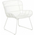 Click to swap image: <strong>Granada Butterfly Occ Ch-White - RRP-$</strong></br>Dimensions: W660 x D700 x H770mm</br>Shipped: Assembled - 0.371m3</br>Arm Height - 520mm</br>Chair Max. Weight - 120kg</br>Chair Stackable - No</br>Frame Material - Galvanised Metal</br>Seat Height - 420mm</br>Weaving Colour - White</br>Weaving Material - 2.5mm Resin