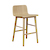 Click to swap image: <strong>Sketch Tami Barstool-Light Oak - RRP-$POA</strong></br>Dimensions: W430 x D505 x H865mm</br>Shipped: Assembled - 0.234m3</br>Leg Colour - Light Oak</br>Leg Material - Oak</br>Seat Height - 660mm</br>Seat & Back Colour - Light Oak</br>Seat & Back Material - Plywood Shell
