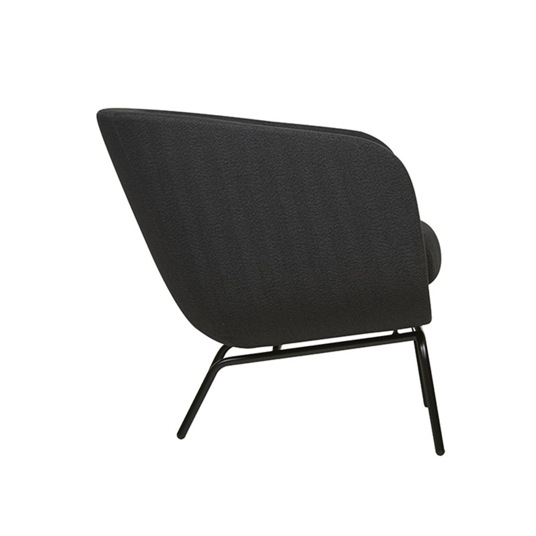 Juno Tub Metal Leg Occasional Chair image 3