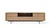 Click to swap image: <strong>Ethnicraft Shadow LgETU-Oak/Bk - RRP-$POA</strong></br>Dimensions: W2240 x D450 x H630mm</br>Shipped: Assembled - 0.864m3</br>Additional Dimensions Base Height - 190mm</br>Additional Dimensions Case Height - 440mm</br>Case Cable Holes - Yes</br>Case Material - Solid Oak</br>Case Finish - Oiled</br>Case Construction - 1 Open Compartment, 2 Doors, 1 Hutch Door, 2 Drawers</br>Case Colour - Natural Oak</br>Frame Material - Metal</br>Frame Finish - Matt Powdercoat</br>Frame Colour - Black</br>Product Item Weight - 102kg</br>Product Hardware - Pneumatic Hinge (Hutch Door)</br>Product Care Label - As this item uses a pneumatic hinge, do not use excessive force when opening hutch doors. Hutch doors are not weight-bearing and should not be lent, kneeled or stood-on. Applying excessive force or weight may result in damage to the door-operating hardware.