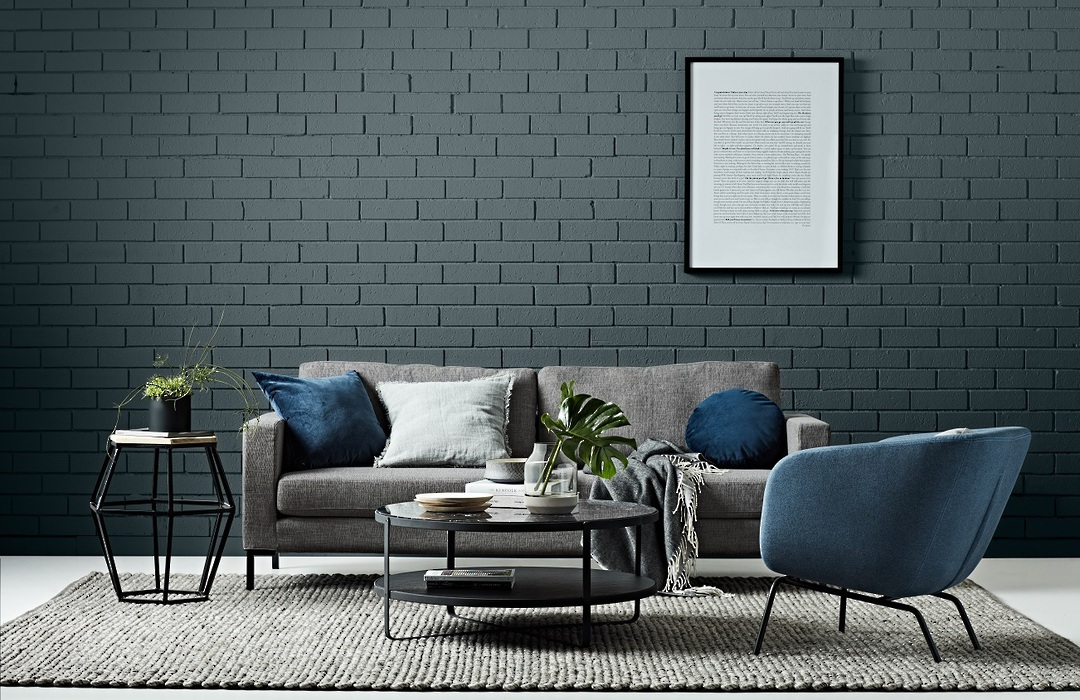 Juno 3 Seater Sofa with Black Powder Coated Legs image 4