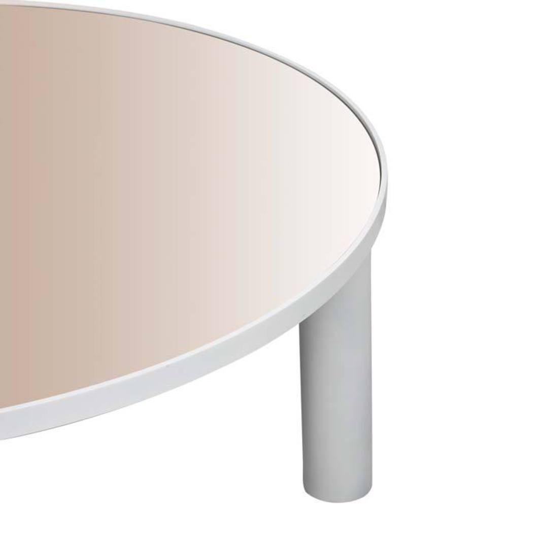 Amara Disc Mirror Coffee Table image 6