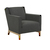 Click to swap image: Harlow Occ Chair-Slate Wea/Nat