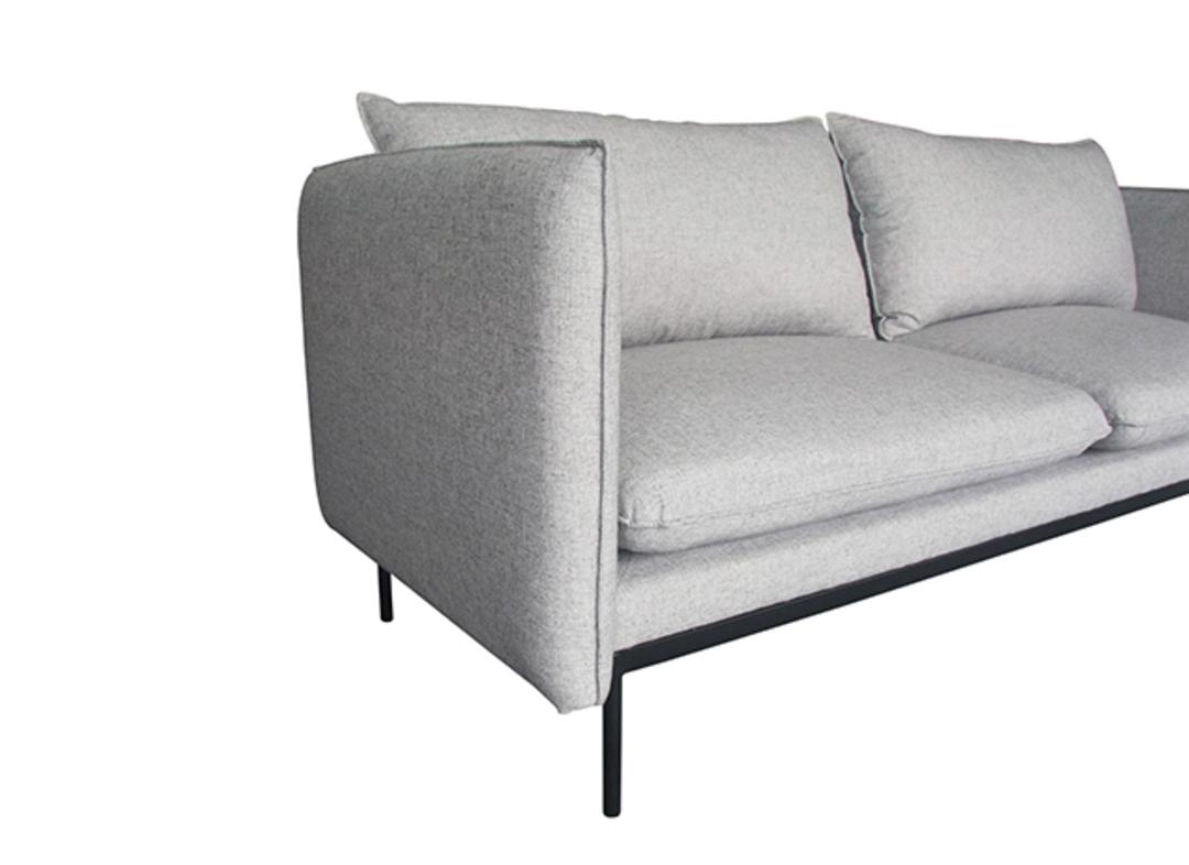 Vittoria Curve 3 Seater Sofa image 8