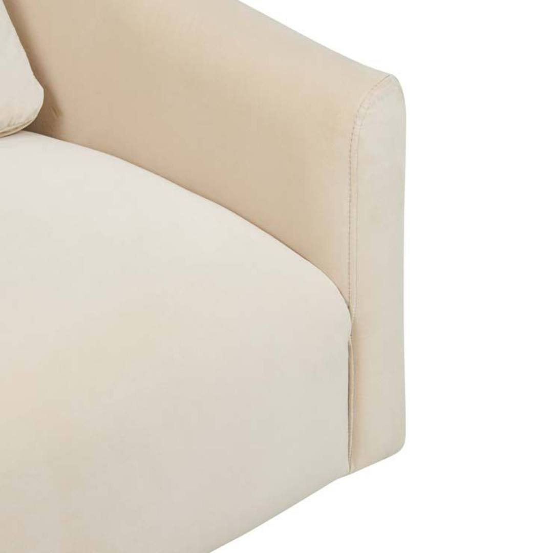 Kennedy Curve Swivel Occasional Chair image 2