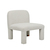Click to swap image: <strong>Hugo Arc Occ Chair-Oat Boucle - RRP-$2012</strong></br>Dimensions: W705 x D680 x H750mm</br>Shipped: Assembled - 0.497m3</br>Additional Dimensions Seat Depth - 604mm</br>Additional Dimensions Seat Height - 400mm</br>Leg Finish - Upholstered</br>Leg Material - Oat Boucle</br>Product Assembly State - Assembled</br>Upholstery Removable Covers - No</br>Upholstery Colour - Oat Boucle</br>Upholstery Composition - 95% Polyester, 5% Acrylic