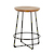 Click to swap image: <strong>Shelter Rnd 60cm B/Stool-Na/Bk - RRP-$</strong></br>  -
