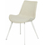 Click to swap image: <strong>Cleo Dining Ch-Whit/Pearl Grey - RRP-$511</strong></br>Dimensions: - W520 x D580 x H800mm</br>Chair Stackable - No</br>Chair Max. Weight - 120kg</br>Leg Material - Metal</br>Leg Finish - Powdercoated</br>Leg Colour - White</br>Seat Height - 460mm Seat Height</br>Upholstery Material - 100% Polyester</br>Upholstery Colour - Pearl Grey