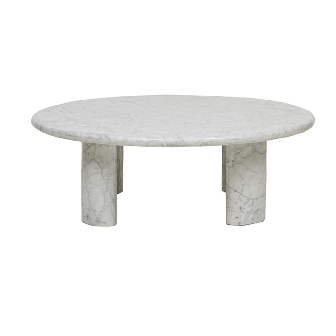 Amara Round Ellipse Leg Coffee Table image 5