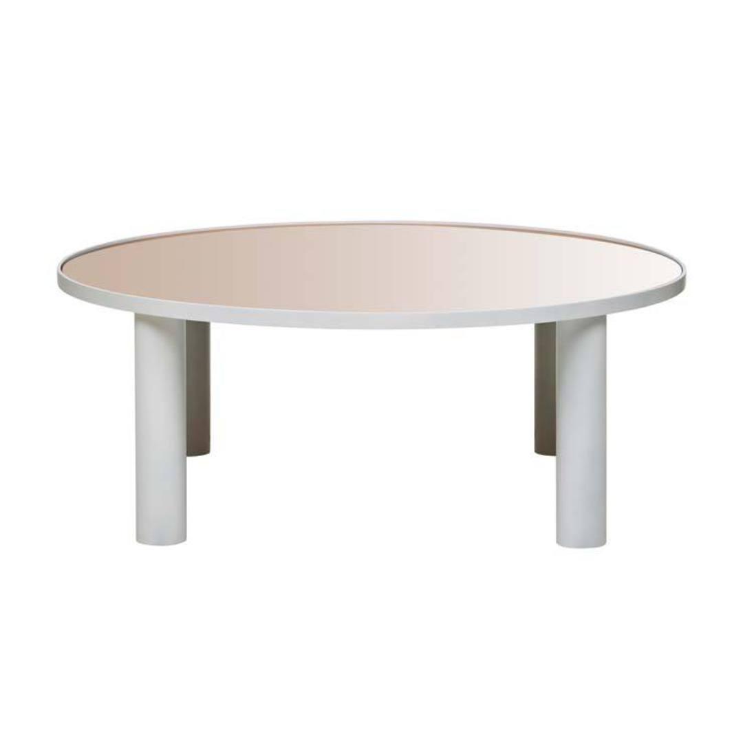 Amara Disc Mirror Coffee Table image 0