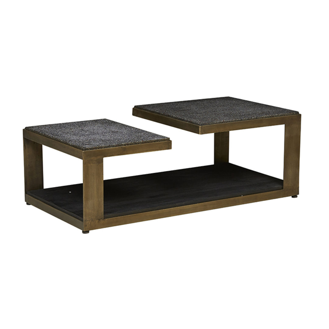 Amelie Platform Terrazzo Coffee Table image 4