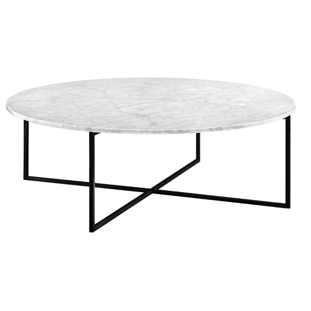 Elle Luxe Marble Round Coffee Tables image 9