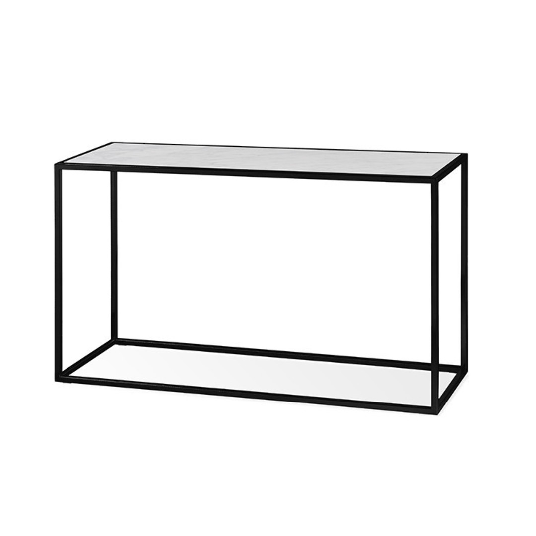Elle Cube Marble Consoles image 0