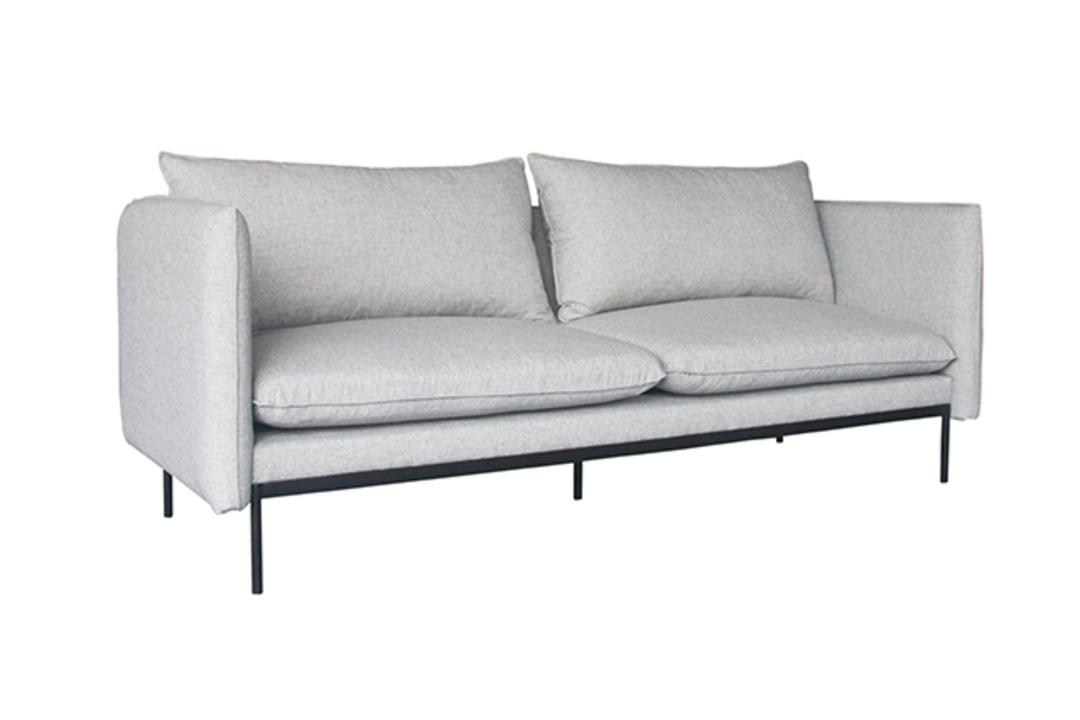 Vittoria Curve 3 Seater Sofa image 7