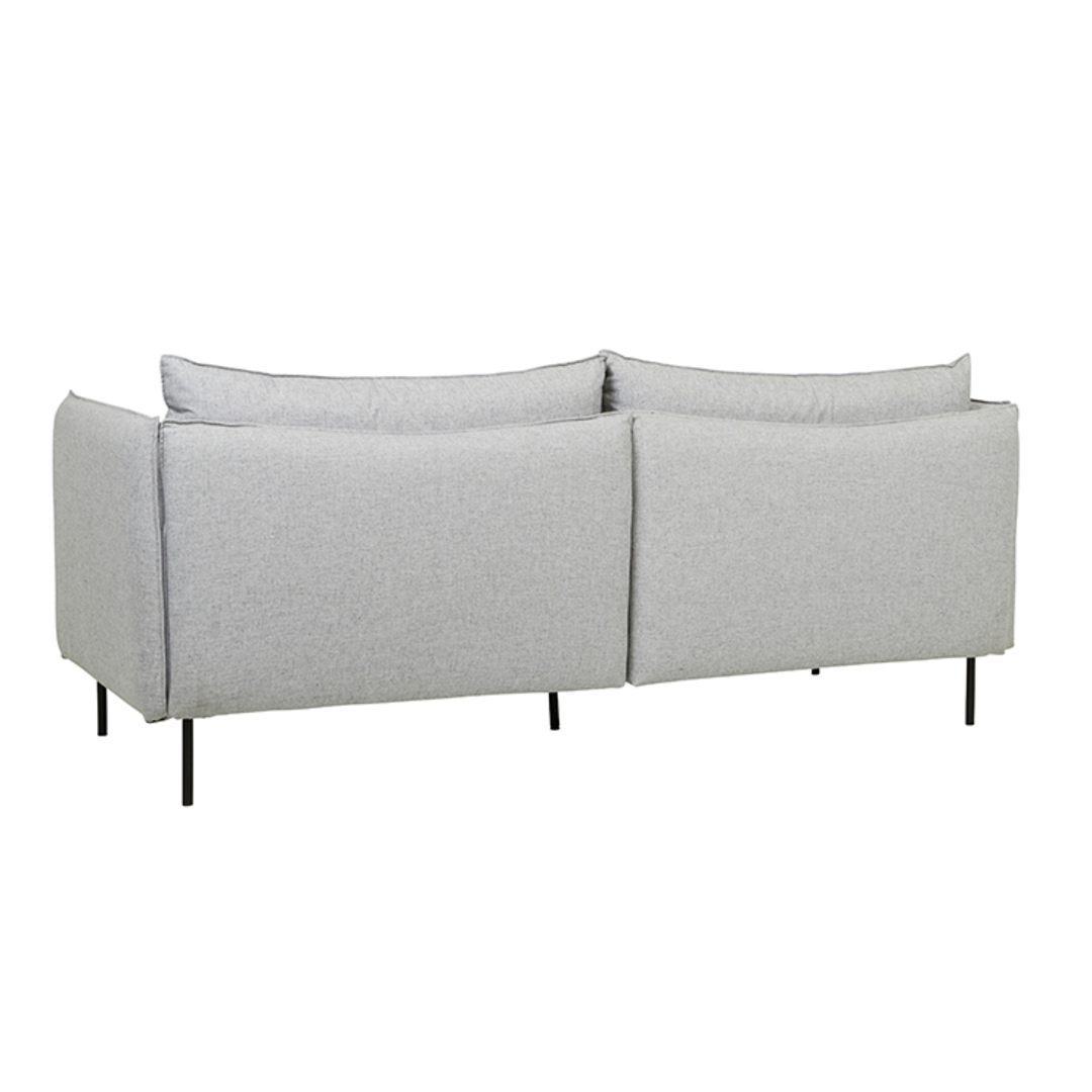 Vittoria Curve 3 Seater Sofa image 1