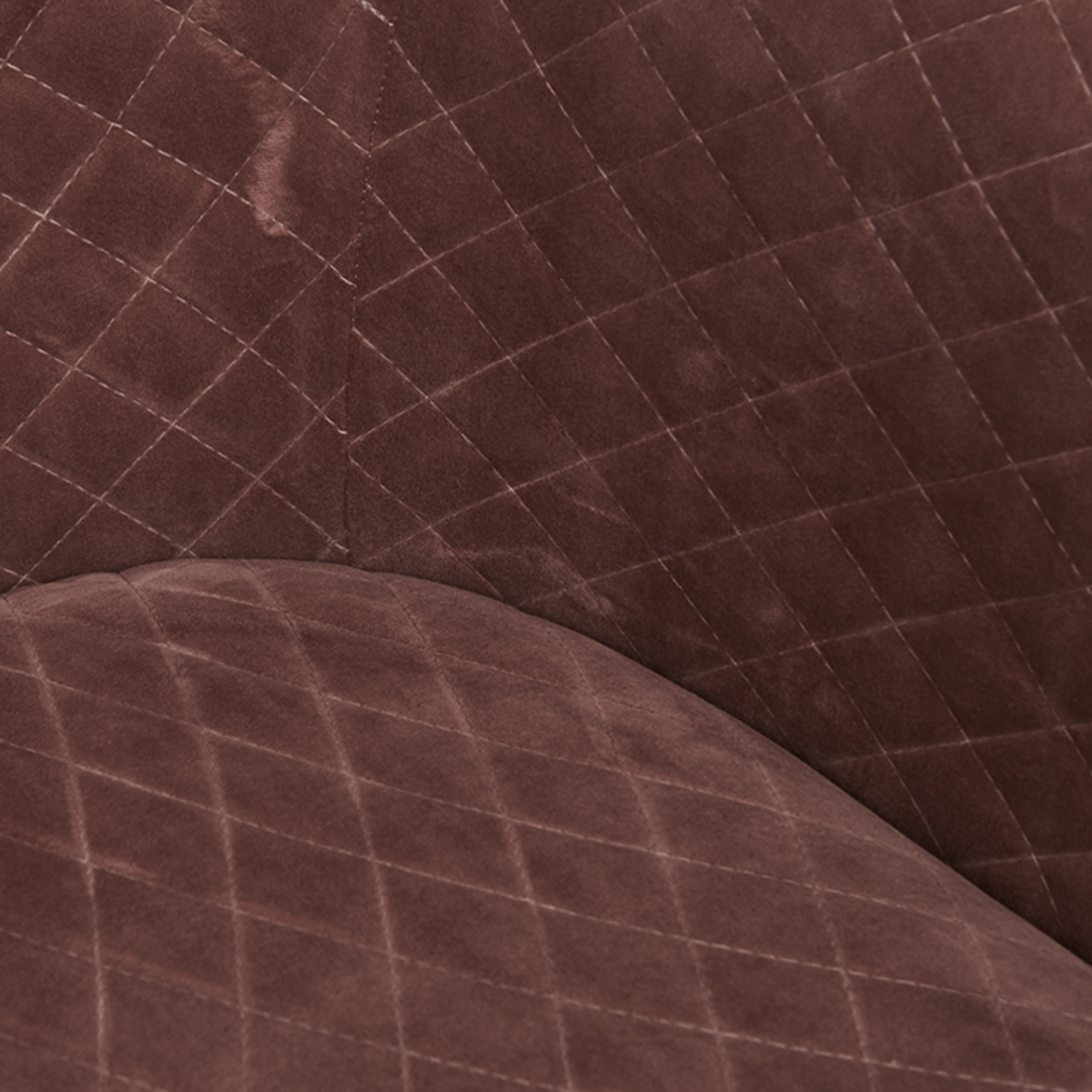 Penelope Quilted Swivel Occasional Chair image 6