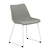 Click to swap image: <strong>Arnold Dining Ch- Wh/Grey Spec - RRP-$555</strong></br>Dimensions: W480 x D570 x H800mm</br>Shipped: K/D - Requires Assembly on site - 0.099m3</br>Chair Stackable - No</br>Leg Colour - White</br>Leg Finish - Matt</br>Leg Finish - Powdercoated</br>Leg Material - Metal</br>Seat Colour - Grey Speckle</br>Seat Height - 470mm</br>Seat Material - Fabric (100% Polyester)