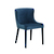 Click to swap image: <strong>Claudia Dining Chair-NavyVelve - RRP-$719</strong></br>Dimensions: W545 x D610 x H840mm</br>Shipped: Assembled - 0.25m3</br>Chair Max. Weight - 120kg</br>Chair Stackable - No</br>Frame Material - Metal</br>Seat Configuration - 460mm seat height</br>Upholstery Colour - Navy Velvet</br>Upholstery Material - Fabric (100% Polyester)