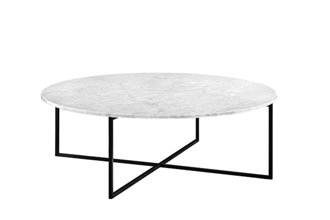 Elle Luxe Marble Round Coffee Tables image 0