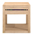Click to swap image: <strong>Ethnicraft Azur Bedside - Oak </strong></br>Dimensions: W480 x D440 x H480mm</br>Shipped: Assembled - 0.12m3</br>Case Colour - Natural</br>Case Material - Solid Oak</br>Drawer Configuration - 1