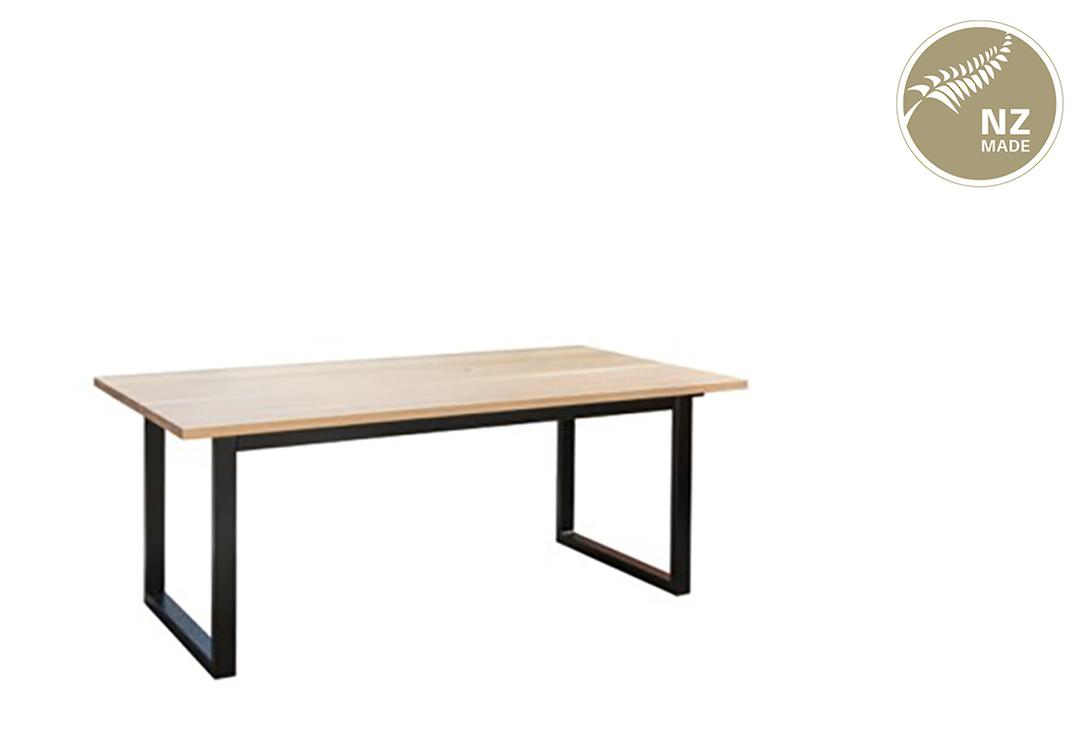 Thorndon Square Base 1800mm Table & Barleaner image 0