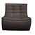 Click to swap image: <strong>Ethnicraft Slouch 1Str-Dk Grey - RRP-$POA</strong></br>Dimensions: W800 x D910 x H760mm</br>Shipped: Assembled - 0.629m3</br>Cushion Construction - Sofa Cushion Profile - Medium</br>Filling Material - Foam Fill</br>Product Configuration - Joining Brackets Included</br>Seat Dimensions - 550mm Seat Depth</br>Seat Height - 430mm</br>Upholstery Colour - Dark Grey</br>Upholstery Composition - 84% Polyester, 16% Acrylic