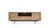 Click to swap image: <strong>Ethnicraft Shadow SmETU-Oak/Bk - RRP  N/A</strong></br>Dimensions: W1800 x D450 x H630mm</br>Shipped: Assembled - 0.707m3</br>Additional Dimensions Base Height - 190mm</br>Additional Dimensions Case Height - 440mm</br>Case Construction - 1 Open Compartment, 1 Door, 1 Hutch Door, 2 Drawers</br>Case Finish - Oiled</br>Case Colour - Natural Oak</br>Case Material - Solid Oak</br>Case Cable Holes - Yes</br>Frame Finish - Matt Powdercoat</br>Frame Colour - Black</br>Frame Material - Metal</br>Product Item Weight - 80kg</br>Product Care Label - As this item uses a pneumatic hinge, do not use excessive force when opening hutch doors. Hutch doors are not weight-bearing and should not be lent, kneeled or stood-on. Applying excessive force or weight may result in damage to the door-operating hardware.</br>Product Hardware - Pneumatic Hinge (Hutch Door)