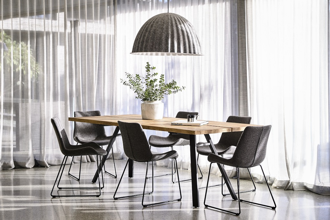 Cleo Sleigh Dining Chair image 10