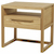Click to swap image: <strong>Porter Bedside - Natural Ash - RRP-$1092</strong></br>Drawer Internal Dimensions - 460mm width and 310mm depth</br>Open Compartment Internal Dimensions - 500mm width 400mm depth and 100mm height</br>Case Material - Ash Veneer</br>Case Colour - Natural</br>Drawer Configuration - 1